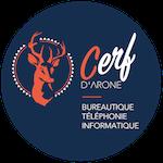 Cerf d'Arone informatique, téléphonie et bureautique à Lyon Logo